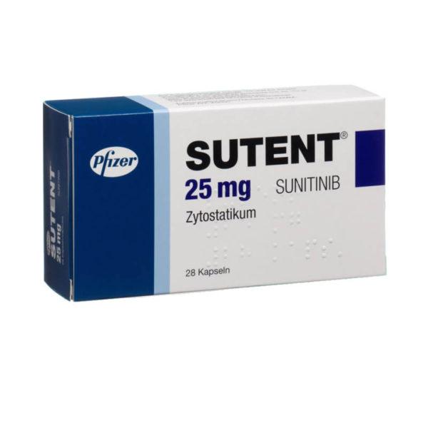 Сутент (Sutent) 25 мг - купить в Москве