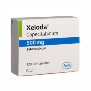 Кселода (Xeloda) 500 мг - Купить в Москве